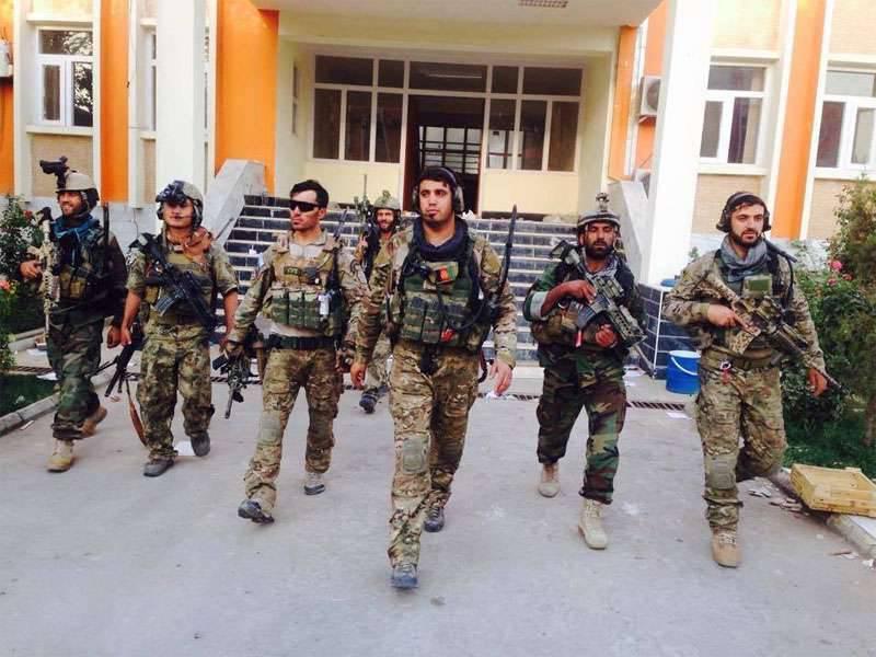 Operação bem-sucedida de agentes de segurança afegãos contra terroristas do Estado Islâmico