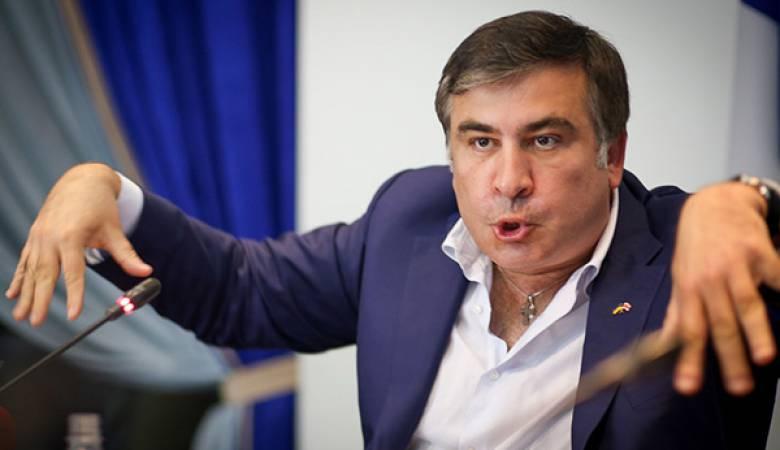 Saakashvili was going to campaign ...
