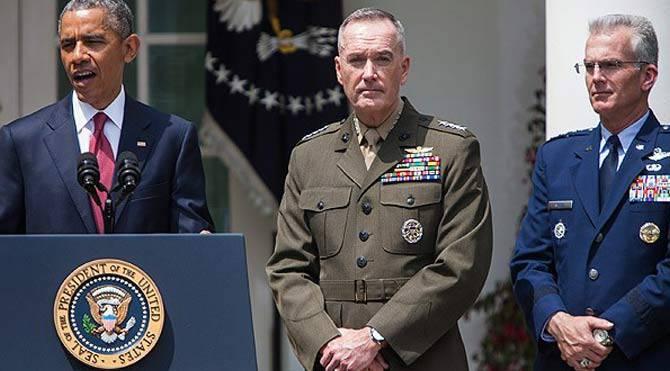 सीरिया में ट्रू के खिलाफ अमेरिकी जनरलों