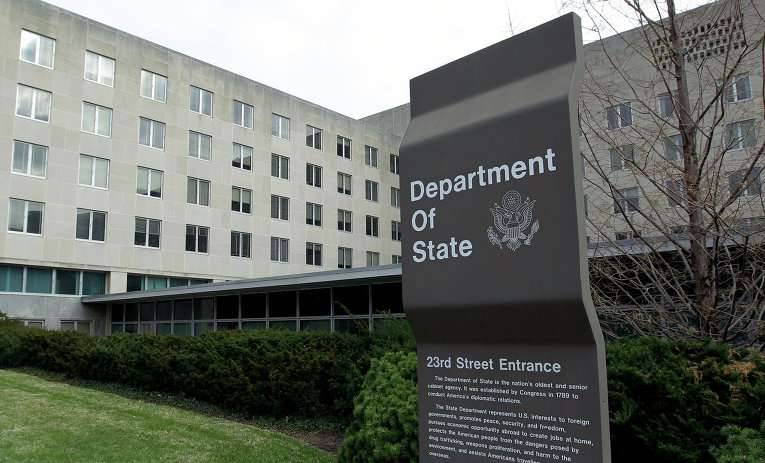 The State Department confirmed that they continue to convince businessmen not to do business with the Russian Federation