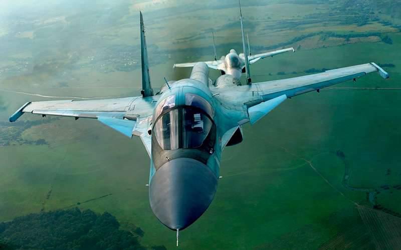 Su-34:最新的俄罗斯轰炸机