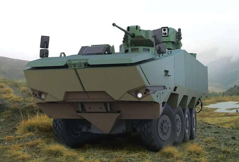 Terrex 2: ST Kinetik Yeni Nesil BMP'yi Tanıttı