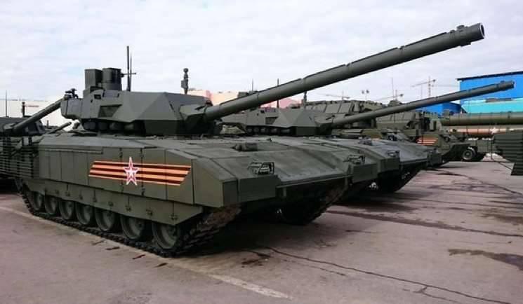 UVZ:目前正在测试Armata平台上的20坦克和步兵战车