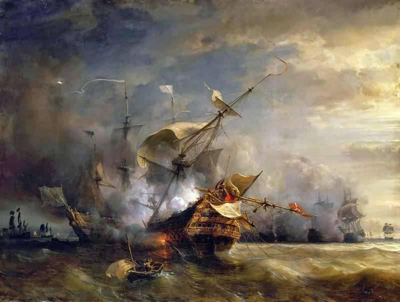 एंग्लो-फ्रांसीसी नौसैनिक प्रतिद्वंद्विता। महामहिम Corsairs