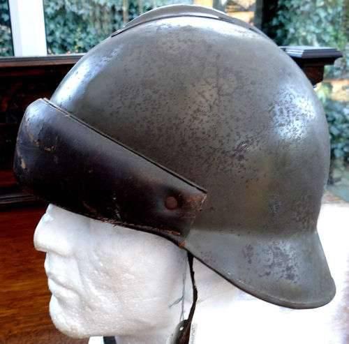 História do capacete de tanque