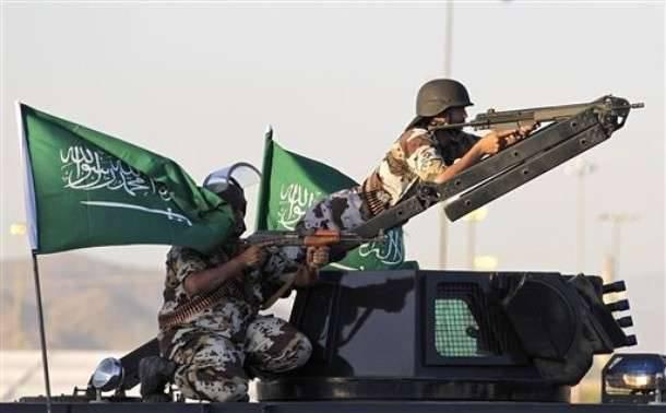 उत्तरी सऊदी अरब में सैन्य अभ्यास में 20 देशों के सैन्यकर्मी भाग लेते हैं