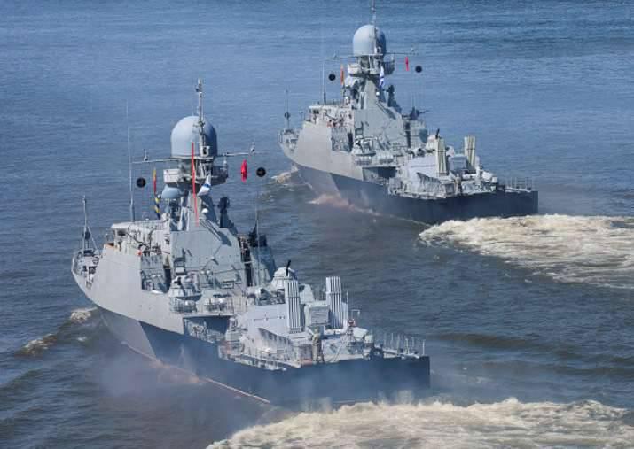 Cerca de 50 navios e navios da flotilha do mar Cáspio estão se preparando para navegar