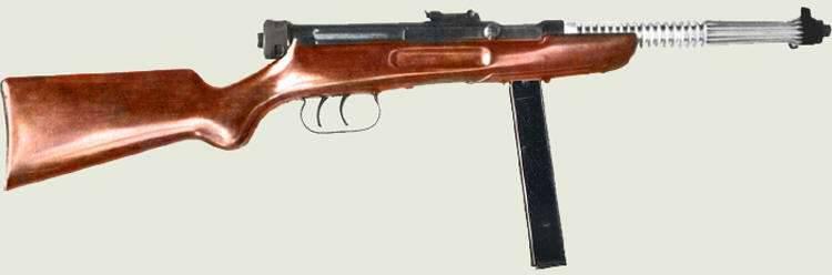 Maschinenpistolen der Beretta M1938-Familie (Italien)