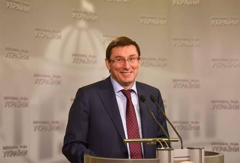 "Lutsenko는 유럽이 우크라이나와 함께 ""한혈""이라는 사실을 인정하도록 요구"