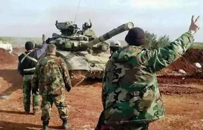 关于叙利亚T-90的开放式舱口和新的动态保护专家