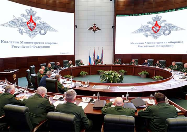 Shoigu: a new support structure is being created in the Navy