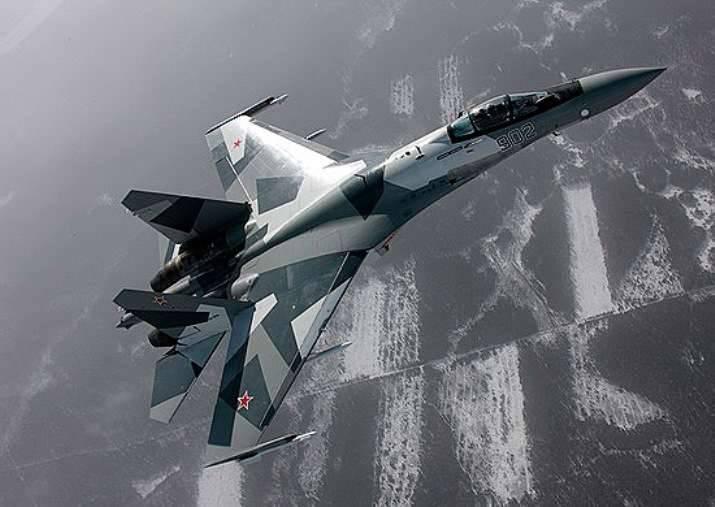 소대 Su-35가 Primorye에서 결성 됨