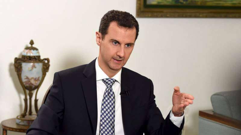 아사드 : 우리 국민은 독립을 위해 싸우고 있습니다.