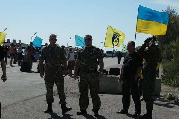 The UN report states that Kiev must detain activists of the so-called blockade of the Crimea and restore constitutionality