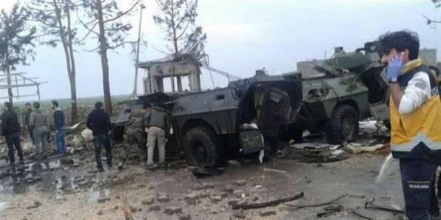 तुर्की Nusaybin में एक पुलिस वस्तु पर हमला