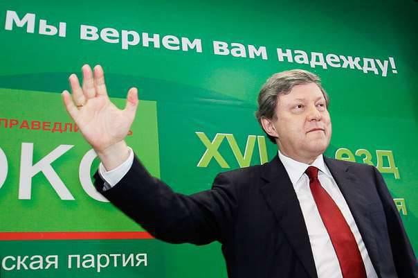 ヤヴリンスキーはプーチンに対する勝利を夢見ている