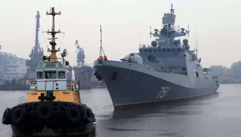 "La deuxième phase des tests d'état de ""l'amiral Essen"" aura lieu dans la mer de Barents"