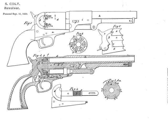 Colt Navy 1851 Revolver of the Year (Colt 1851 Navy)