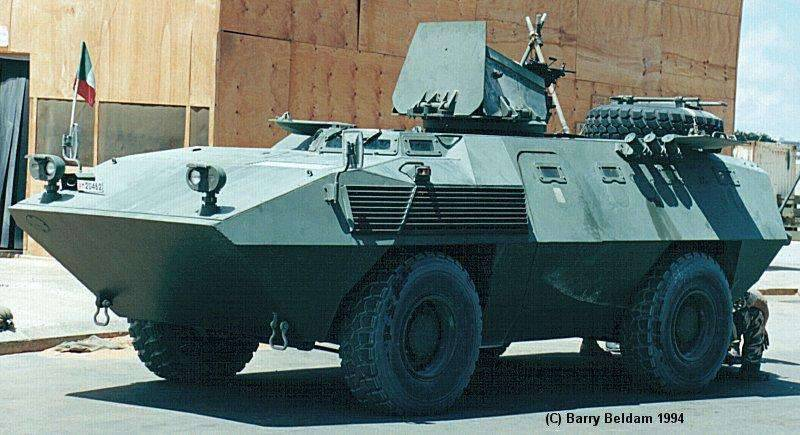 Type 6614 armored personnel carrier of FIAT and Oto Melara companies