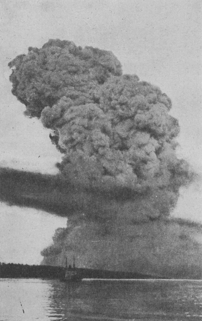 史上最強の非核爆発