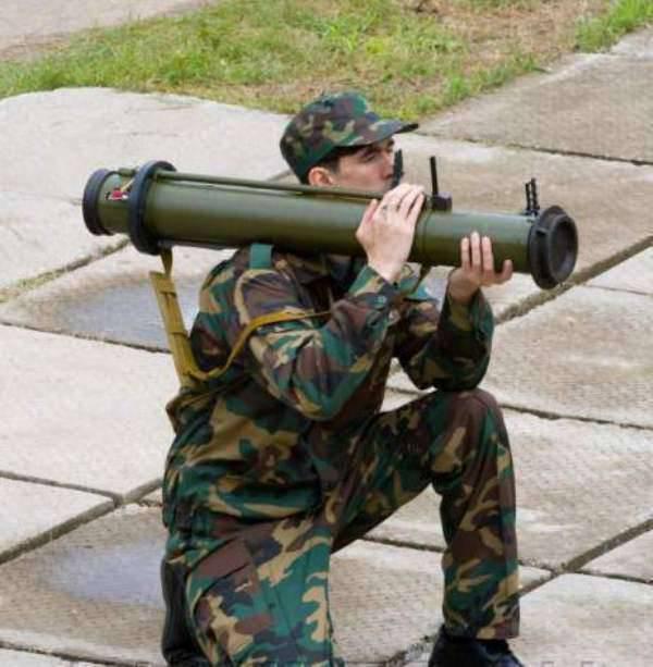 俄罗斯反坦克榴弹发射器和一次性火箭手榴弹