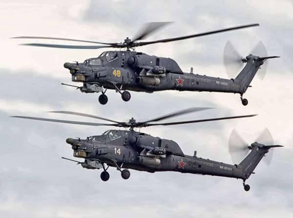 이중 제어 Mi-28HE 헬리콥터 양산 개시