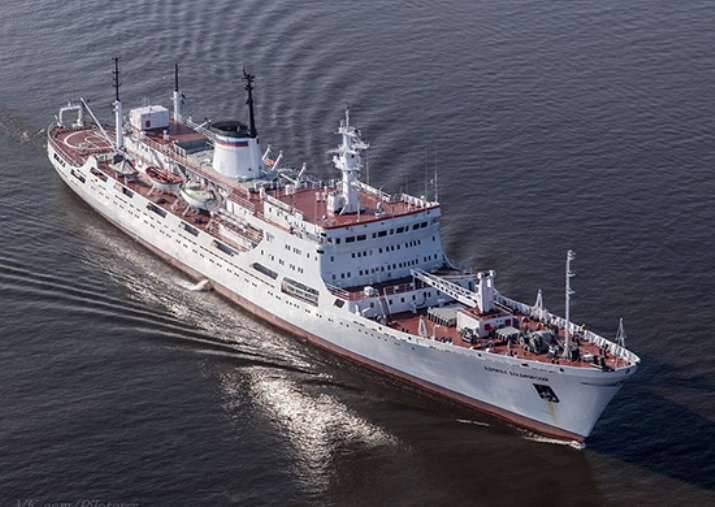"""Almirante Vladimirsky"" mediu as profundezas do oceano em 44 mil. Km"