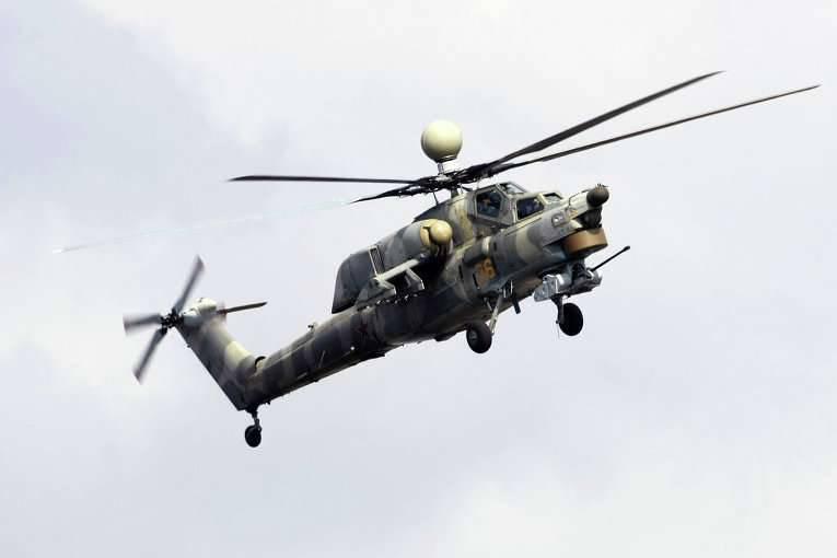 以前Mi-28HヘリコプターにインストールされていたウクライナのエンジンはロシアのVK-2500に置き換えられます