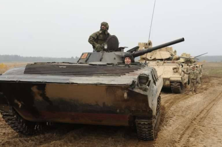 Poland intends to replace all Soviet BMP with new armored vehicles