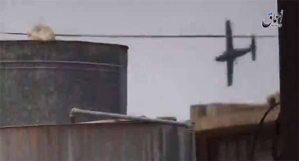 DAEŞ militanları, Irak Hava Kuvvetleri keşif uçağını düşürdüklerini açıkladı