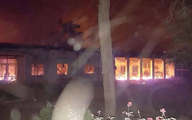 """Pentagon """"punishes"""" privates and sergeants for bombing a hospital in Kunduz"""
