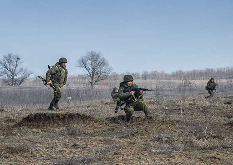 Divisions of the Russian Federation and Tajikistan liquidated conditional gangs