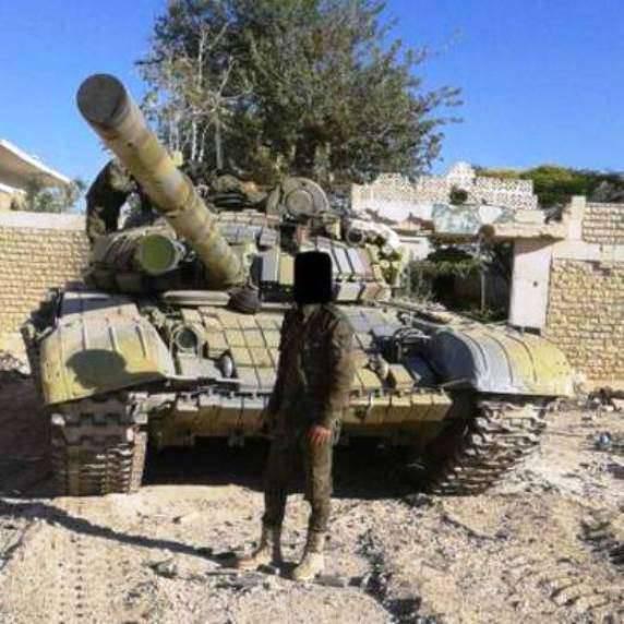 Tanques T-72B en Siria