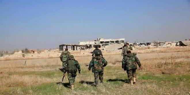 रूसी संघ के सशस्त्र बलों के जनरल स्टाफ ने पलमायरा क्षेत्र में आईएसआईएस आतंकवादियों के एक समूह को बॉयलर में ले जाने के लिए सीरियाई सेना द्वारा शर्तों के निर्माण की घोषणा की।
