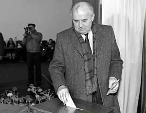 """El referéndum """"sobre la preservación de la URSS"""" el poder engañó a la gente dos veces"""