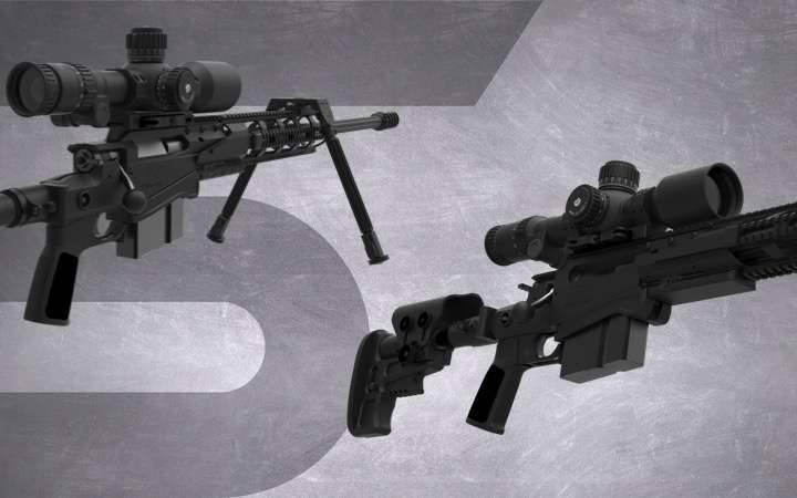 모듈 형 전술 소총 MTR SX-1