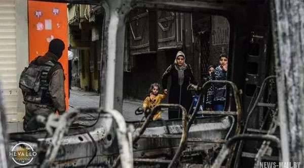 """土耳其总参谋部报告该国东南部有一名土耳其士兵死亡,并消灭了"""" 28名库尔德恐怖分子"""""""