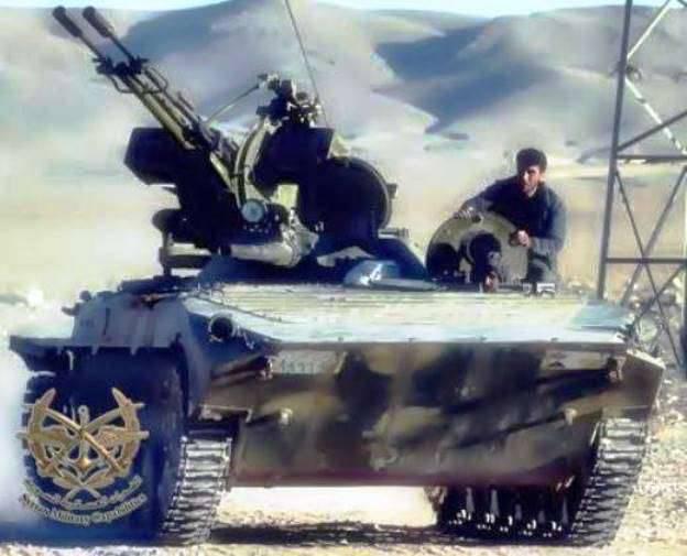 シリア人はBMP-1の火力を増強しました