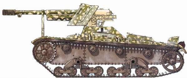 7,5cm PaK 97 / 38 (f) auf Pz. 740 (r): SAU project based on the T-26 tank