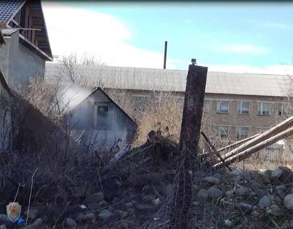 En Daguestán, el luchador explotó en su propio dispositivo explosivo.