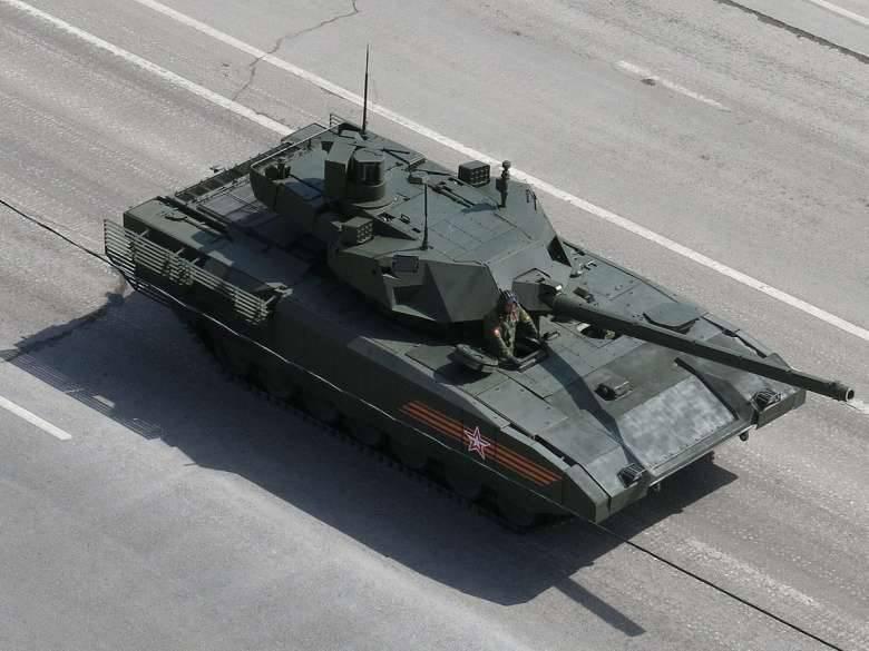 L'intérêt national: Surprise! Le char russe T-14 est entré en production