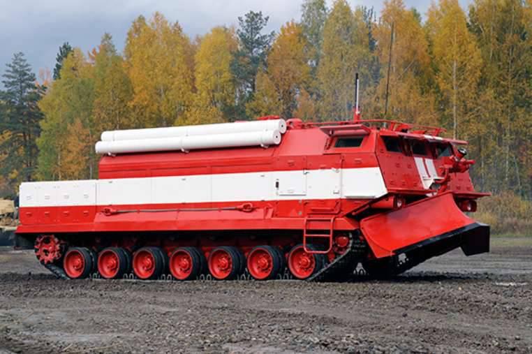 A UVZ enviou os primeiros modelos de produção de equipamentos de combate a incêndio para o cliente