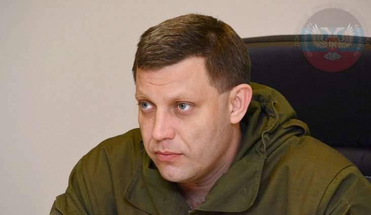 Il capo del DPR: le forze di sicurezza ucraine si preparano a lanciare una nuova offensiva quando inizia il clima secco