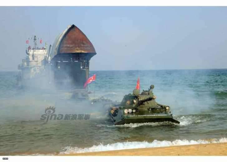 DPRK militar demostró su tanque más secreto