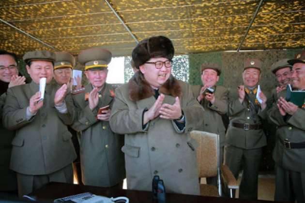 北朝鮮は固体ロケットエンジンをテストする