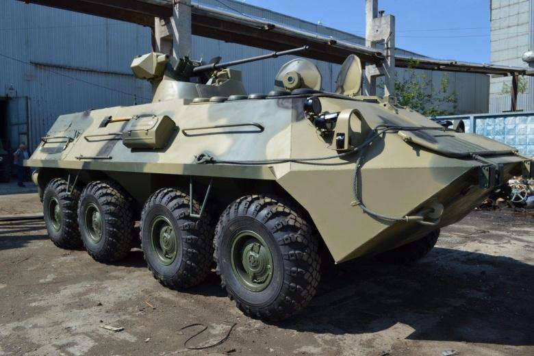 Posted image of the new armored personnel carrier BTR-87