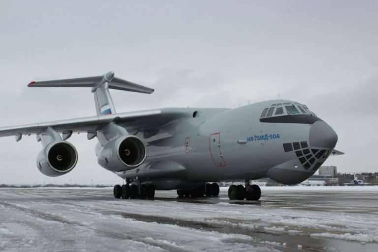 VKS已经收到了2最新的IL-76МД-90А