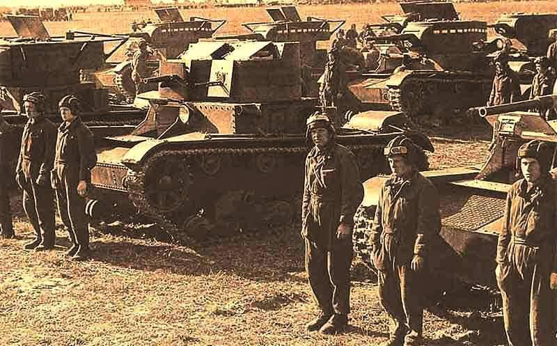 Teoria militare sovietica di sfondare le difese nemiche alla vigilia della seconda guerra mondiale