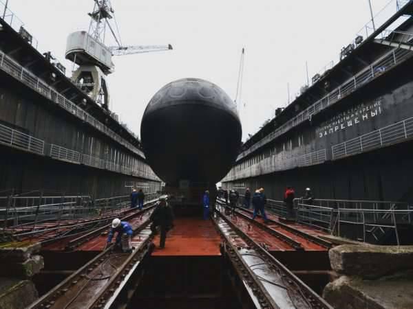 Armada rusa del siglo XXI: naves y armas prometedoras.