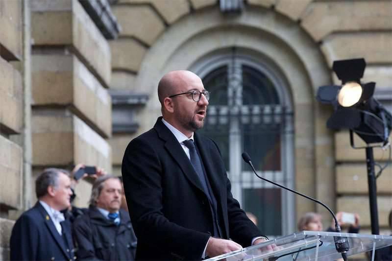 벨기에, ISIS 폭격 결정